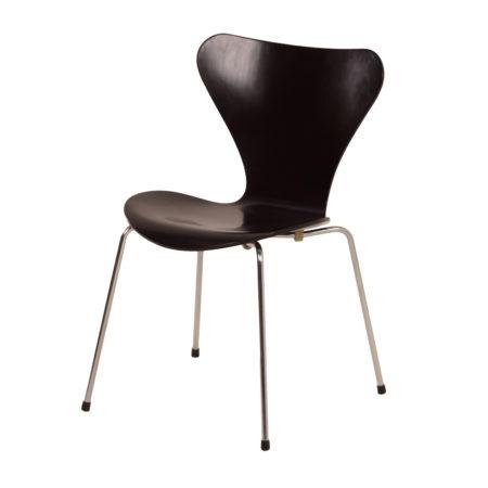 Zwarte Vlinderstoel van Arne Jacobsen voor Fritz Hansen, 1950s | Vintage Design