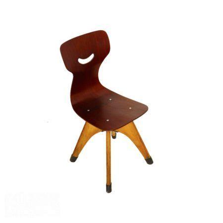 Pagholz Kinderstoeltje, 1950s | Vintage Design