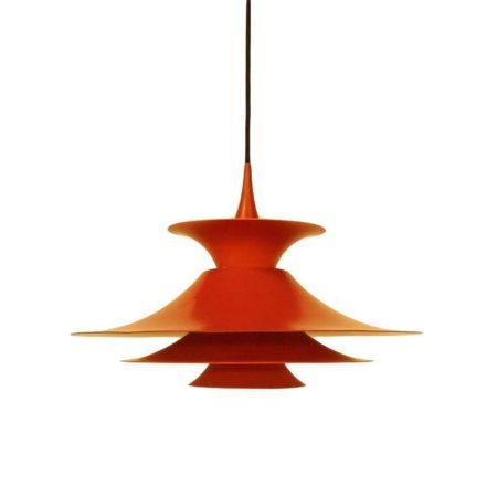 Eric Balslev Radius Hanglamp 1977   Vintage Design