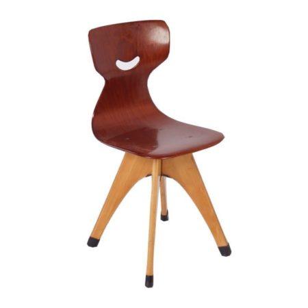 Pagholz Kinderstoeltje van Adam Stegner | Vintage Design