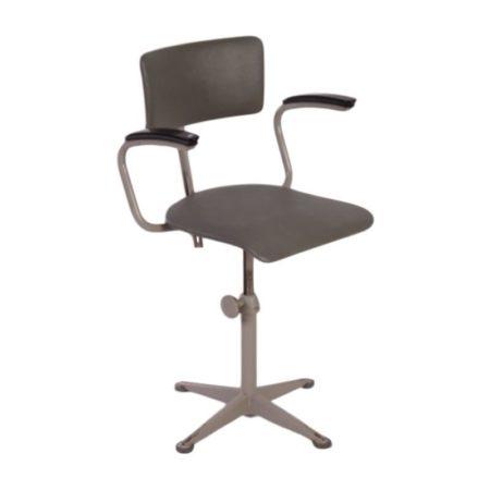 Friso Kramer Werkstoel van Ahrend de Cirkel met Armleuningen | Vintage Design