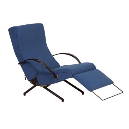P40 Lounge Chair 1ste Editie van Osvaldo Borsani voor Tecno, 1950s | Vintage Design