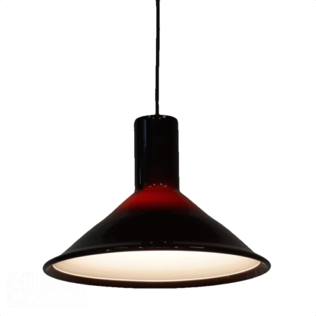 P&T Hanglamp van Michael Bang voor Holmegaard, 1970s | Vintage Design