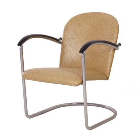 414 Buis Fauteuil van W.H. Gispen voor Gispen, 1960 | Vintage Design