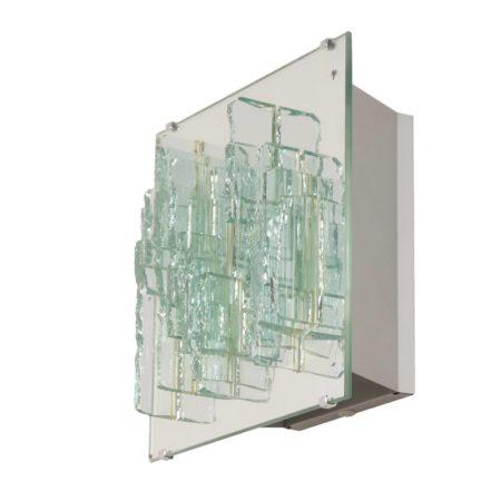 C1517 Breukrelief Wandlamp van Willem van Oyen voor Raak, 1960s | Vintage Design
