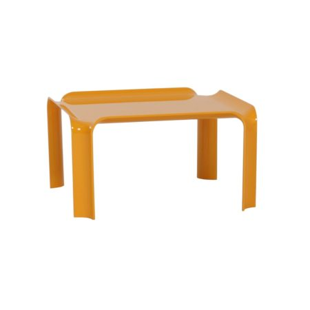 Kleine Gele Salontafel 877 van Pierre Paulin voor Artifort, 1960s | Vintage Design