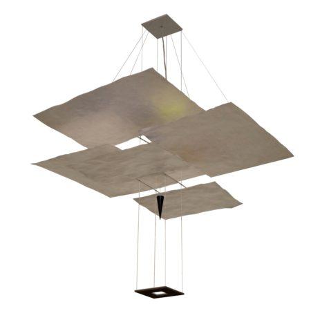 'Oh Mei Ma Weiss' Hanglamp van Ingo Maurer, 1990s   Vintage Design