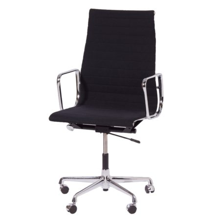EA 119 Kantoorstoel van Charles en Ray Eames voor Vitra, 1980s – Zwart | Vintage Design