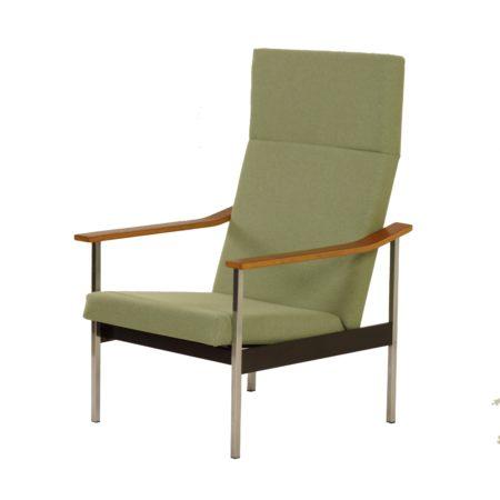 Verstelbare Gispen 1425 Fauteuil van A.R. Cordemeyer, 1960s | Opnieuw Bekleed | Vintage Design