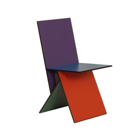 Zeldzame Vilbert Stoel van Verner Panton voor Ikea, 1993 | Vintage Design