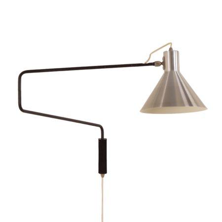Elleboog Wandlamp van Hoogervorst voor Anvia, 1960s | Vintage Design
