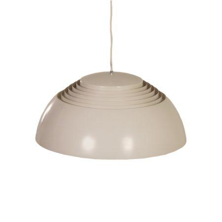 Grijswitte AJ Hanglamp van Arne Jacobsen voor Louis Poulsen, 1950s | Vintage Design