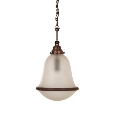 Zeldzame Hanglamp Model 591 K40 van Kandem, 1920s | Vintage Design
