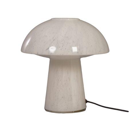 Mushroom Lamp van Opaalglas voor Glashütte Limburg Leuchten, 1970s | Vintage Design