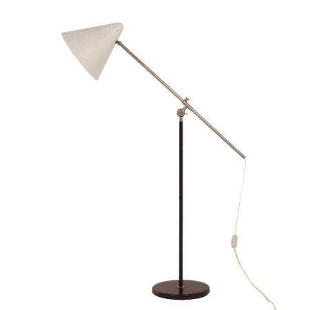 Witte Vloerlamp van Floris Fiedeldij voor Artimeta, 1950s | Vintage Design