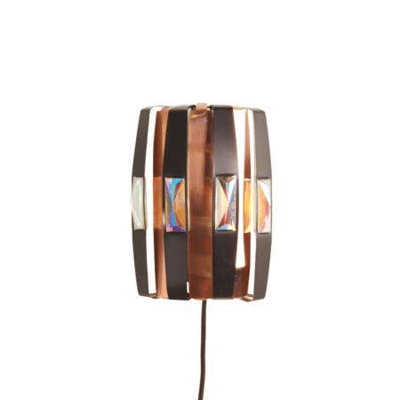 Deense Wandlamp van Werner Schou voor Elektro, 1970 | Vintage Design