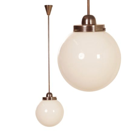 Giso Hanglamp van W.H. Gispen voor Gispen, 1930s | Vintage Design