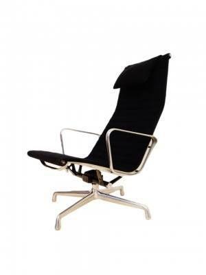 Vintage eames 124 easy chair ztijl - Originele eames fauteuil ...