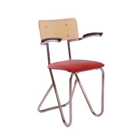 Paul Schuitema Stoel voor Fana Metaal   Vintage Design