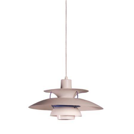Wit paarse PH 5 hanglamp, Louis Poulsen | Vintage Design
