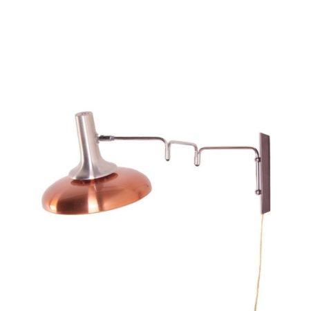 Lakro Wandlamp koperkleurig | Vintage Design