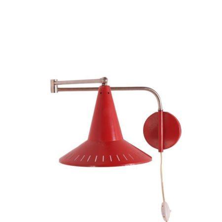Anvia Wandlamp Rood | Vintage Design