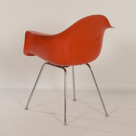 Oranje DAX Kuipstoel van Charles & Ray Eames voor Fehlbaum (voor Herman Miller), 1970s