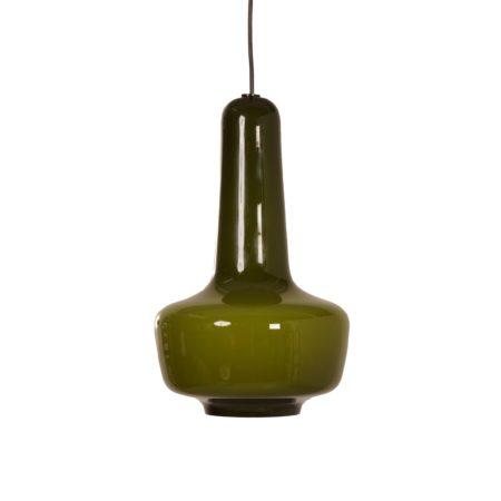 Deense Kreta Hanglamp van Jacob E. Bang voor Fog & Morup, 1960s | Vintage Design