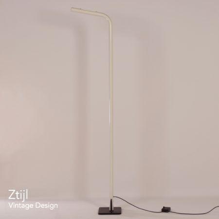 Italiaanse Uplighter Vloerlamp, 1980s – Wit