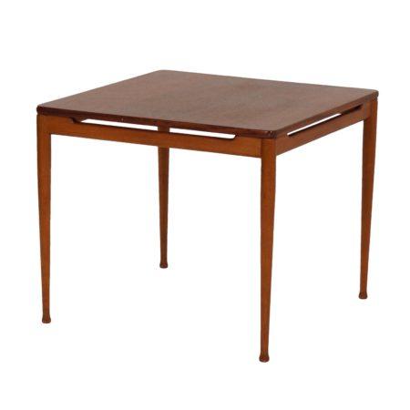 Teak Tafel van Hartmut Lohmeyer voor Wilkhahn, 1950s | Vintage Design