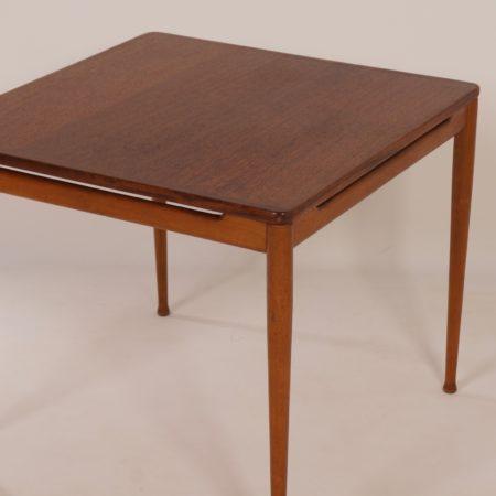 Teak Tafel van Hartmut Lohmeyer voor Wilkhahn, 1950s