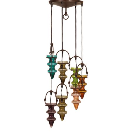 "Prachtige ""Stalactiet"" Hanglamp van Nanny Still, 1960s | Vintage Design"
