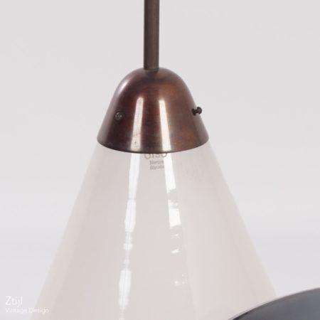Grote Unieke Giso Hanglampen van W.H. Gispen voor Gispen, 1930s