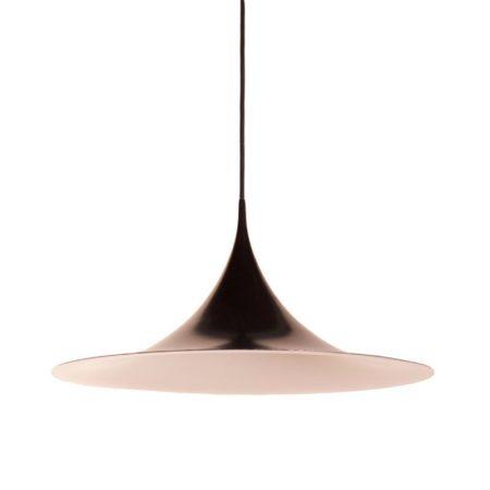Zwarte Semi Hanglamp van Claus Bonderup en Torsten Thorup voor Fog & Morup, 1967 – 60 cm | Vintage Design