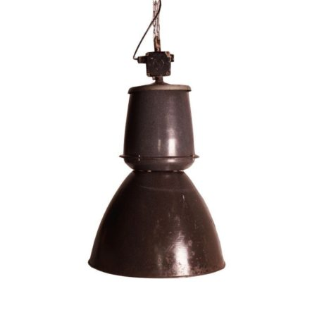 Grote Emaille Fabriekslamp van EFC, 1950s – (2) | Vintage Design