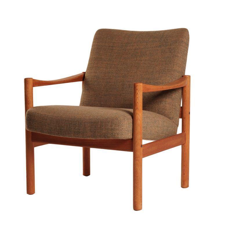Vintage pastoe dames fauteuil groen ztijl for Fauteuil groen