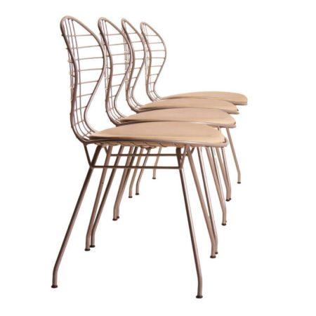 Thema Italy Draadstoelen | Gastone Rinaldi | Vintage Design