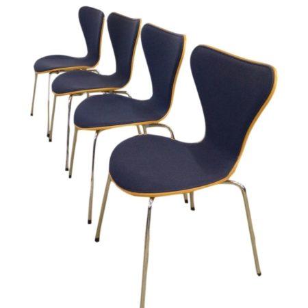 Arne Jacobsen Vlinderstoelen |Set van 4 | Vintage Design