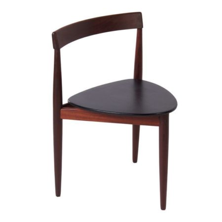 Roundette eetkamerstoel van Hans Olsen voor Frem Røjle   Vintage Design