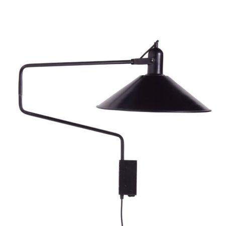 Zwarte Anvia Ellebooglamp | Vintage Design