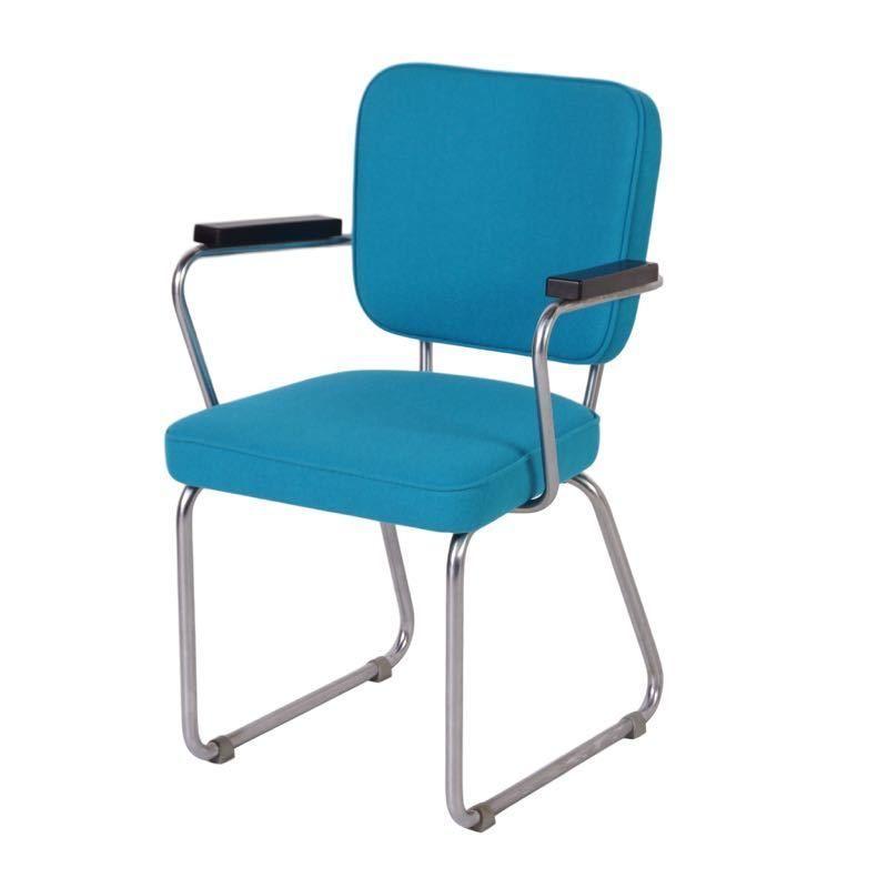Vintage   Gispen Hoffmann stoel Model 352   Ztijl