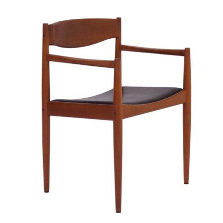 Deense Bramin Stoel met Armleuningen   Vintage Design