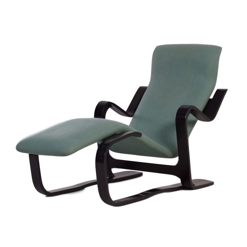 Vintage long chair van marcel breuer voor knoll ztijl - Knoll stoelen ...