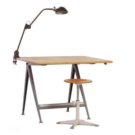 Reply Tekentafel van Wim Rietveld voor Ahrend de Cirkel, 1950s | Vintage Design