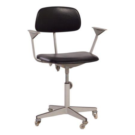 Verstelbare Bureaustoel van Friso Kramer voor Ahrend de Cirkel ca 1960 | Vintage Design