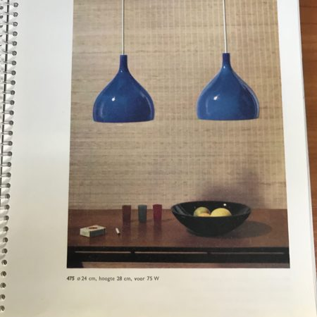 Beige Murano Hanglamp van Paolo Venini voor Venini & C, 1960s Italië