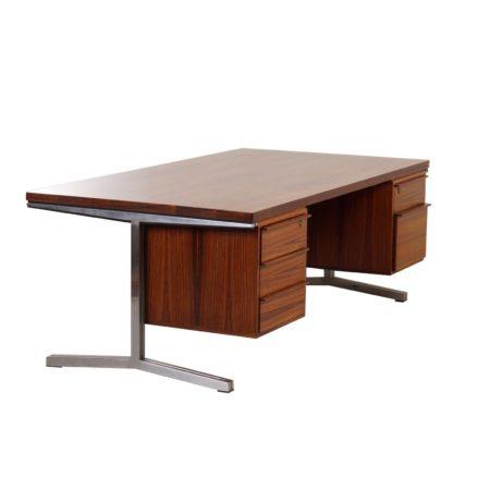 Palissander Directie Bureau van Theo Tempelman Bureau voor AP Originals ca. 1960   Vintage Design