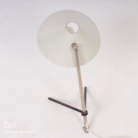 Wit Pinokkio Lampje van H. Busquet voor Hala ca. 1950
