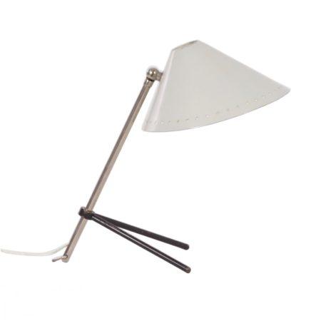 Wit Pinokkio Lampje van H. Busquet voor Hala ca. 1950 | Vintage Design
