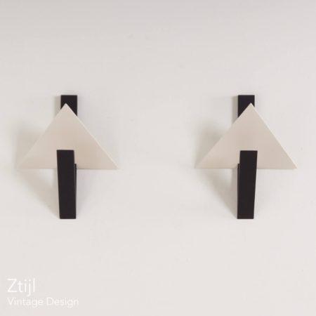 Paar Wandlampen Tria 23671 van Lucien Gau, Parijs, 1990s